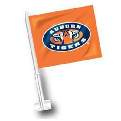 Auburn Tiger Eye Logo Car Flag
