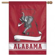 Alabama Wincraft Vault Logo Vertical House Flag