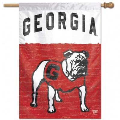 Georgia Wincraft Vault Logo Vertical House Flag