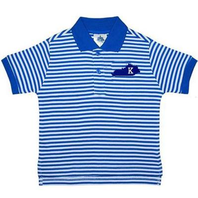 Kentucky Toddler Striped Polo Shirt