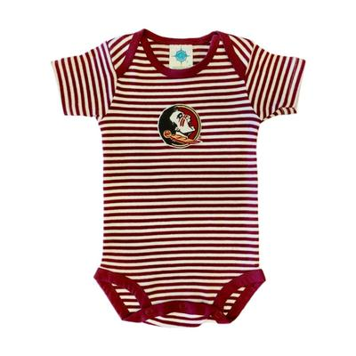 Florida State Infant Striped Bodysuit