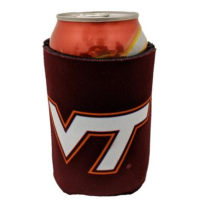 Virginia Tech Maroon Can Coozie
