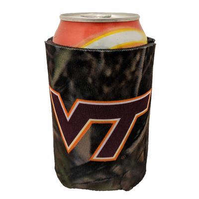 Virginia Tech Camo Coozie
