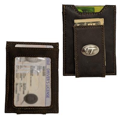Virginia Tech Concho Front Pocket Wallet