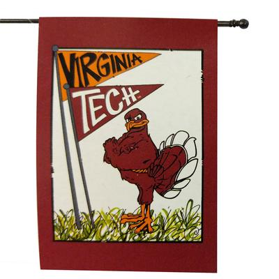 Virginia Tech Magnolia Lane House Flag