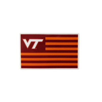 Virginia Tech 2 Inch Flag Decal