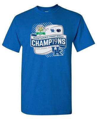 Kentucky Short Sleeve Citrus Bowl Champions Tee