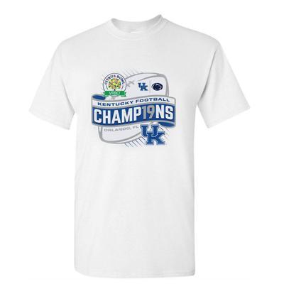 Kentucky Short Sleeve Citrus Bowl Champions TeeWHITE
