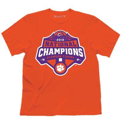 Clemson National Champions Short Sleeve Tee