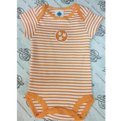 Tennessee Infant Tristar Striped Body Suit