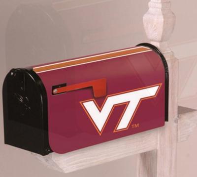 Virginia Tech Applique Mailbox Cover