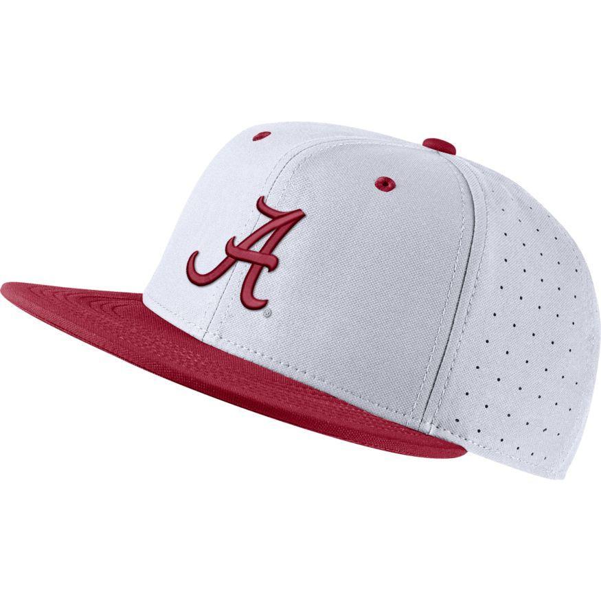 Alabama Nike Aero Baseball Fitted Cap