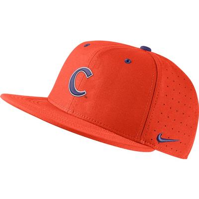 Clemson Nike Aero Baseball Fitted Cap TEAM_ORG