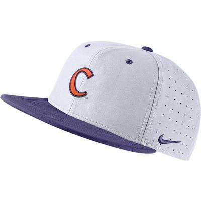 Clemson Nike Aero Baseball Fitted Cap