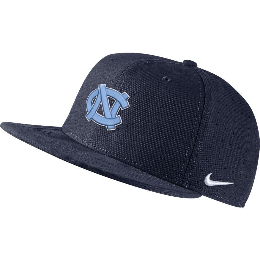 Unc Nike Aero Baseball Fitted Cap