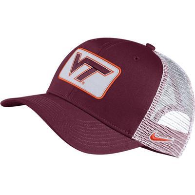 Virginia Tech Nike Adjustable C99 Trucker Hat