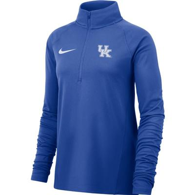 Kentucky Nike Women's Half Zip Pullover