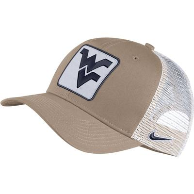 West Virginia Nike Adjustable C99 Trucker Hat
