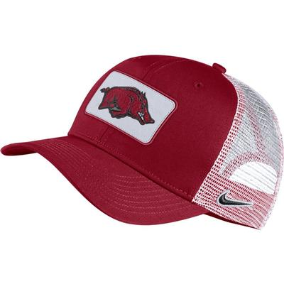 Arkansas Nike Adjustable C99 Trucker Hat
