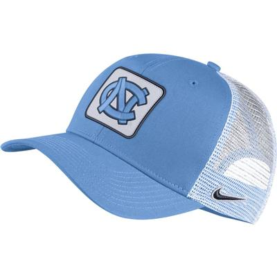UNC Nike Adjustable C99 Trucker Hat