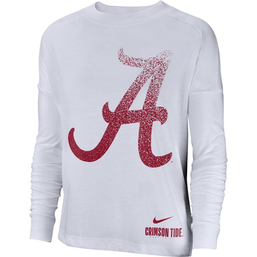 Alabama Nike Women's Breathe Oversized Top