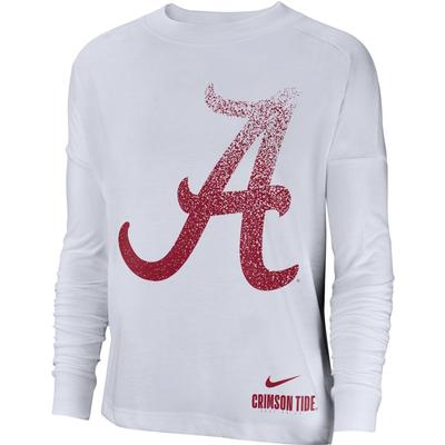 Alabama Nike Women's Breathe Oversized Top
