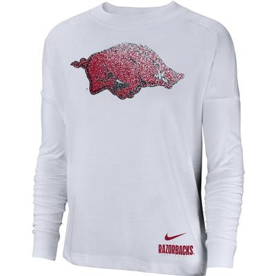 Arkansas Nike Women's Breathe Oversized Top