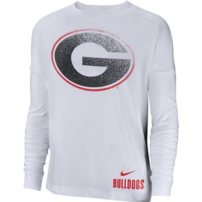 Georgia Nike Women's Breathe Oversized Top