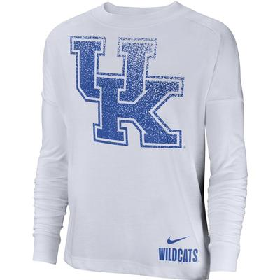Kentucky Nike Women's Breathe Oversized Top