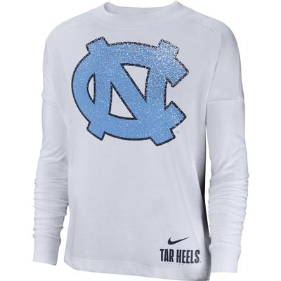 UNC Nike Women's Breathe Oversized Top