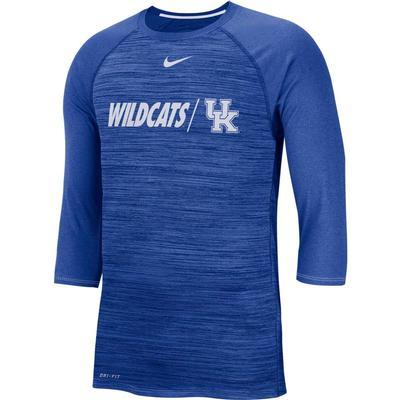 Kentucky Nike Dri-Fit Baseball Raglan Tee