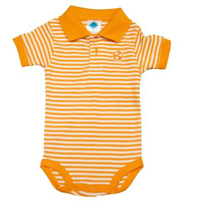 Tennessee Infant Tristar Striped Polo Bodysuit