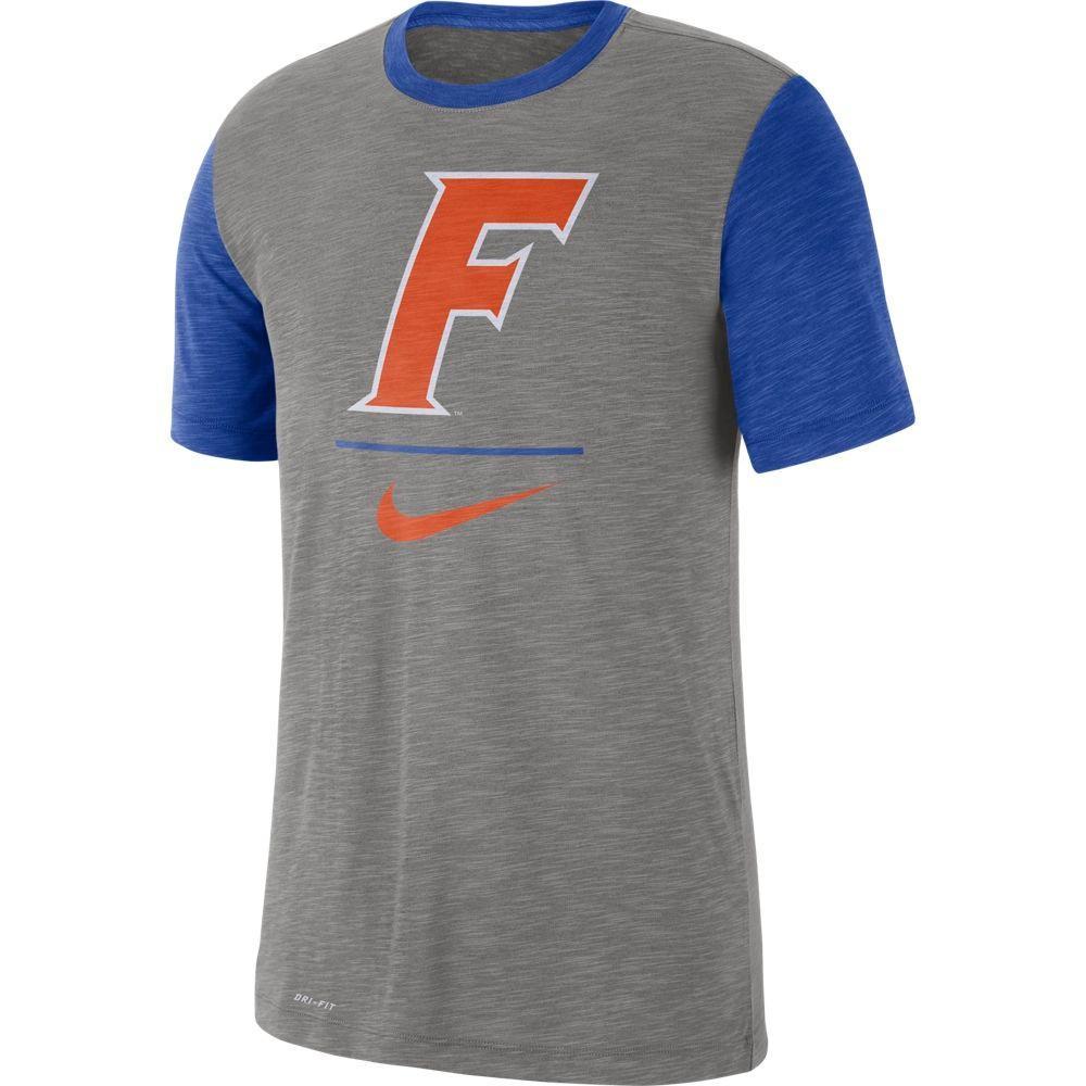 Florida Nike Dri- Fit Short Sleeve Raglan Tee