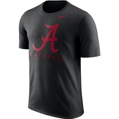 Alabama Nike Dri-Fit Legend Team Issue Tee BLACK