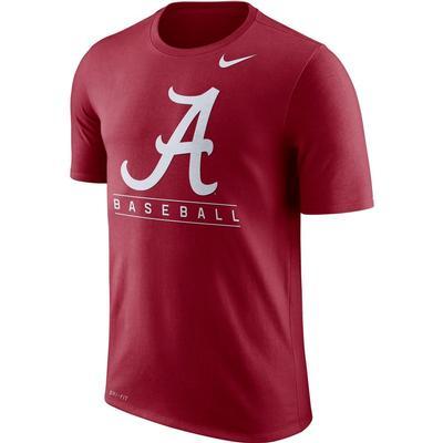 Alabama Nike Dri-Fit Legend Team Issue Tee CRIMSON