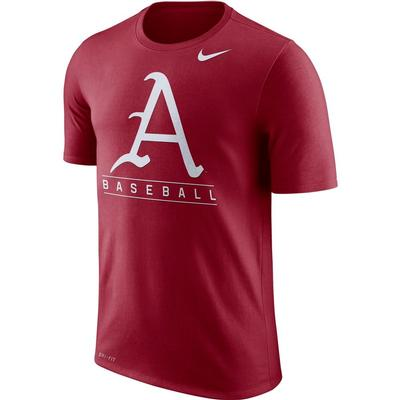 Arkansas Nike Dri-Fit Legend Team Issue Tee