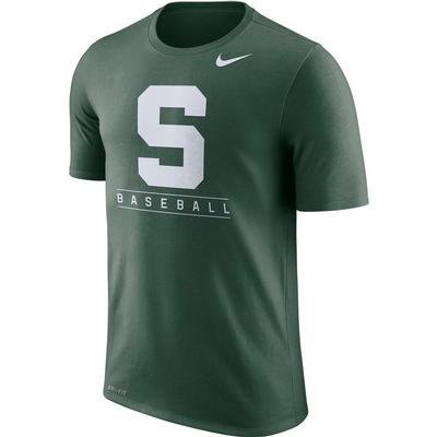 Michigan State Nike Dri-Fit Legend Team Issue Tee