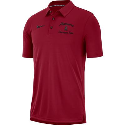 Alabama Nike Chain Stitch Dri-Fit Polo