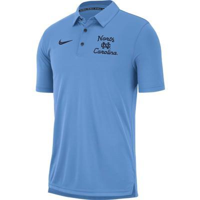 UNC Nike Chain Stitch Dri-Fit Polo