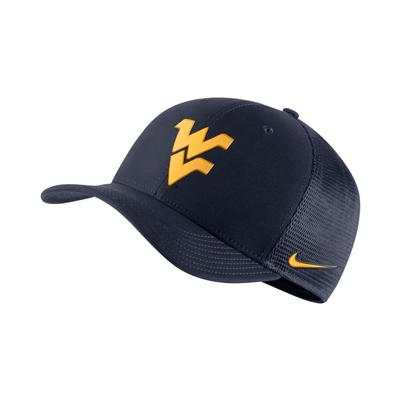West Virginia Nike C99 Flexfit Trucker Hat