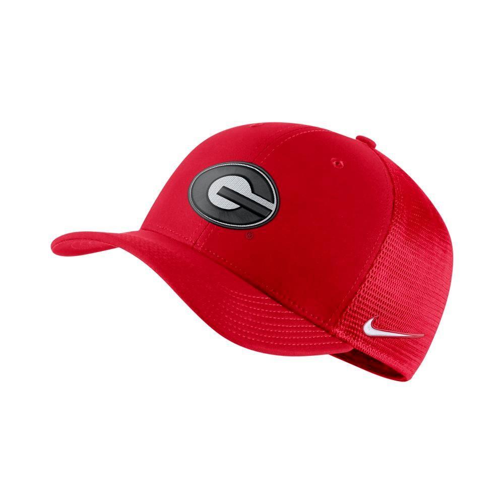Georgia Nike C99 Flexfit Trucker Hat