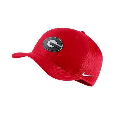 Georgia Nike C99 Flexfit Trucker Hat