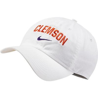 Clemson Nike H86 School Arch Cap