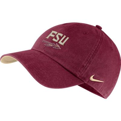 Florida State Nike H86 Adjustable Cap