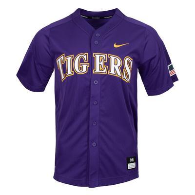 LSU Nike Baseball Jersey