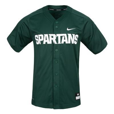 Michigan State Nike Baseball Jersey
