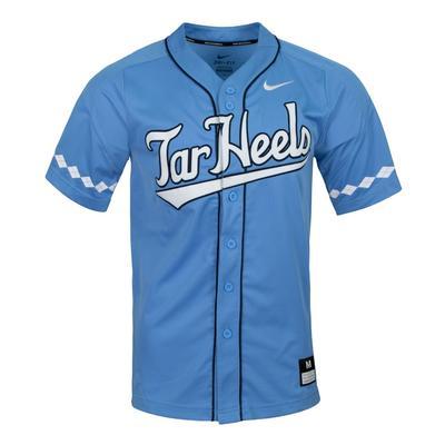 UNC Nike Tar Heels Baseball Jersey