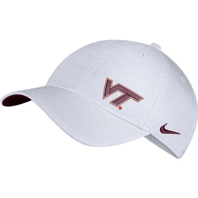 Virginia Tech Nike Womens H86 Glitter Logo Cap