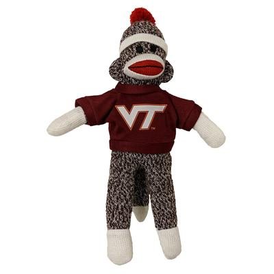 Virginia Tech 8 Inch Sock Monkey