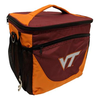 Virginia Tech 24 Can Cooler With Bottle Opener